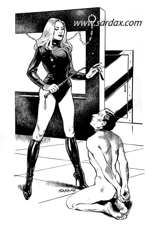 Drawing Lines With Latex : Fantasy the art of sardax page