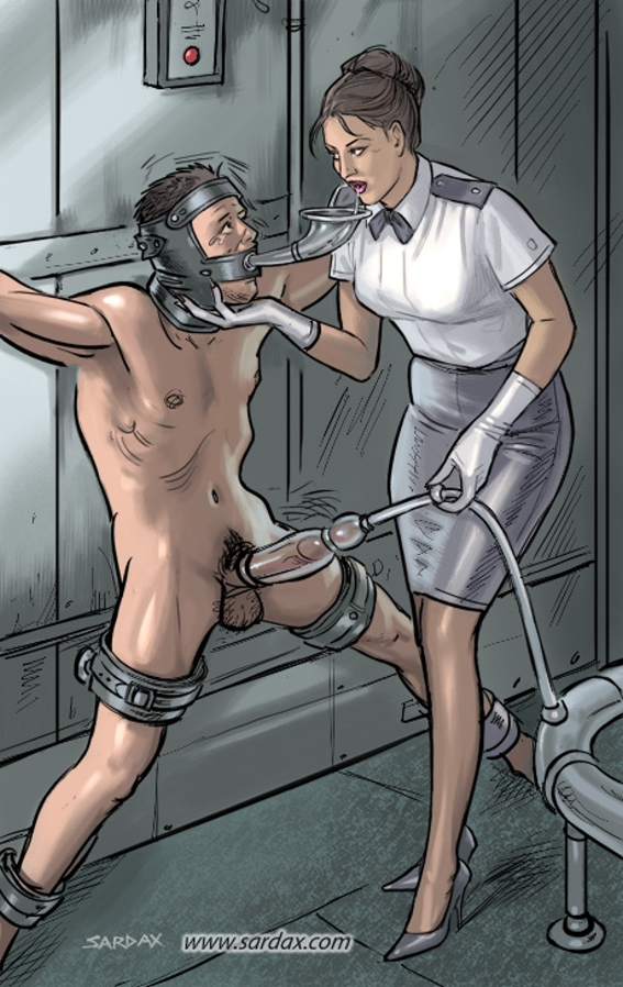 Bdsm male milking